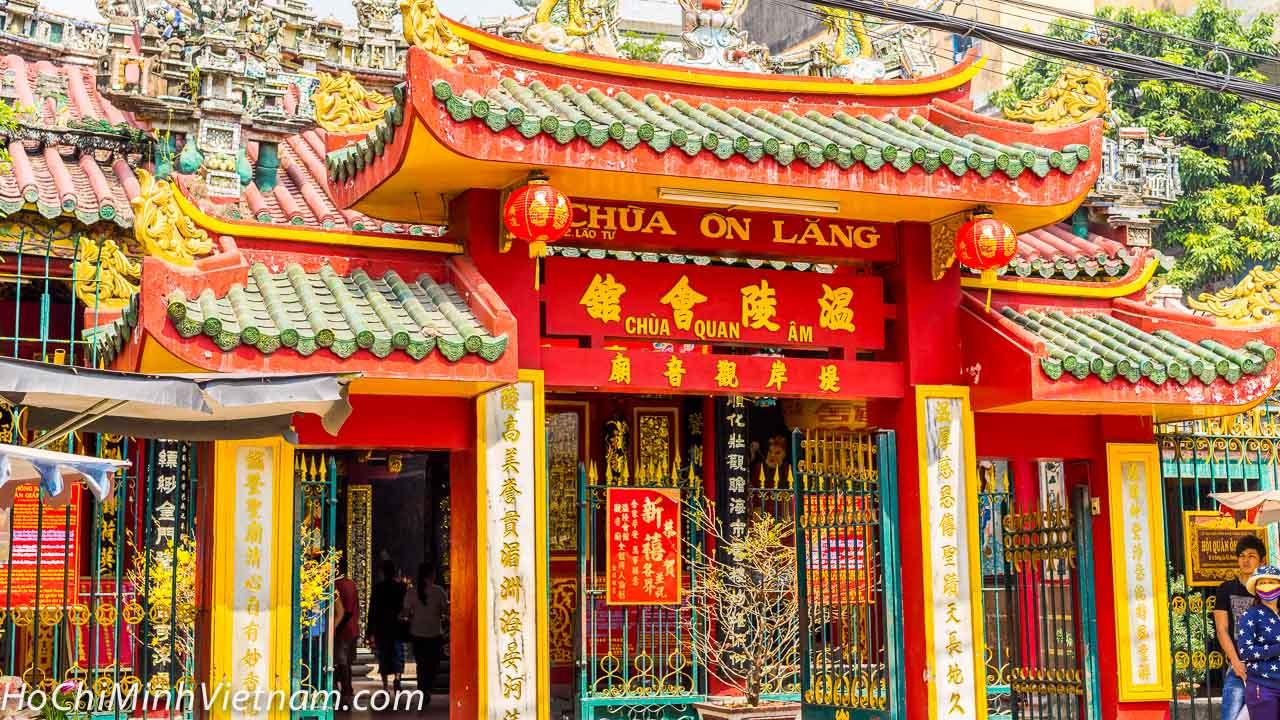 Quan Am Pagoda Ho Chi Minh Chinatown Ho Chi Minh City